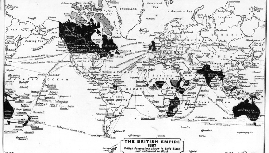 During the Victorian era, Great Britain acquired colonies in every time zone.