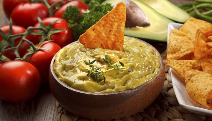 Thicken a veggie dip by add more of the primary vegetable.