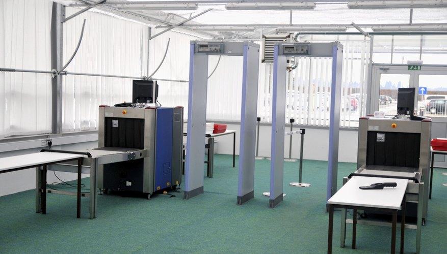 Two metal detectors
