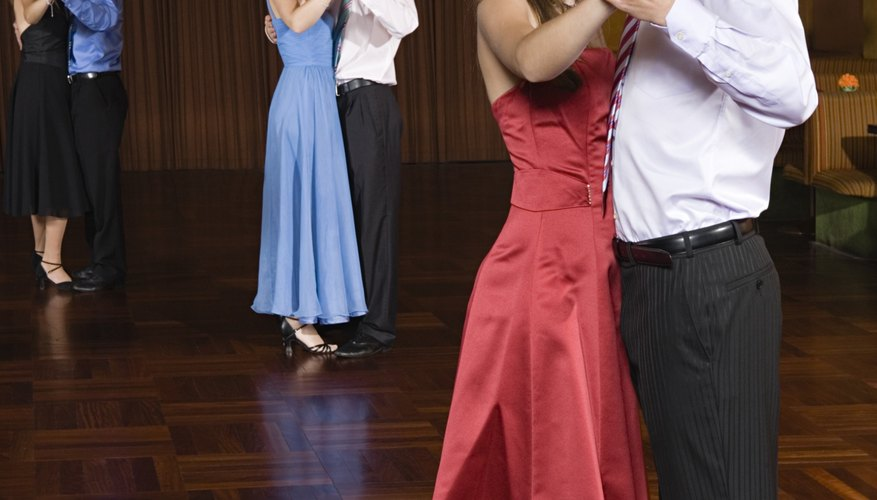 Be prepared to dance the night away with your date.