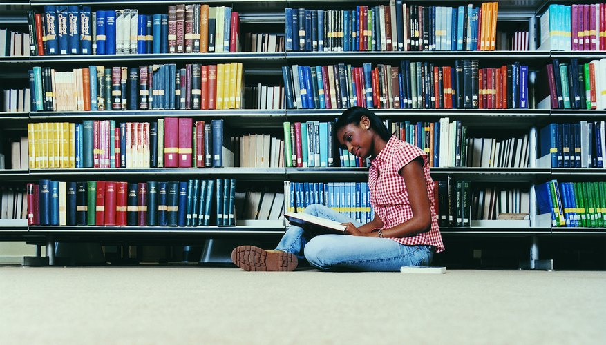 Most college-level reports require library research for outside references.