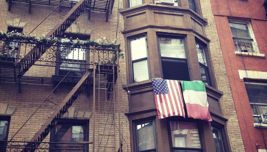 Little Italy neighborhood in New York City