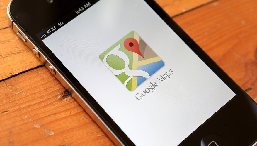 Google Maps is available on mobile devices and the Web.