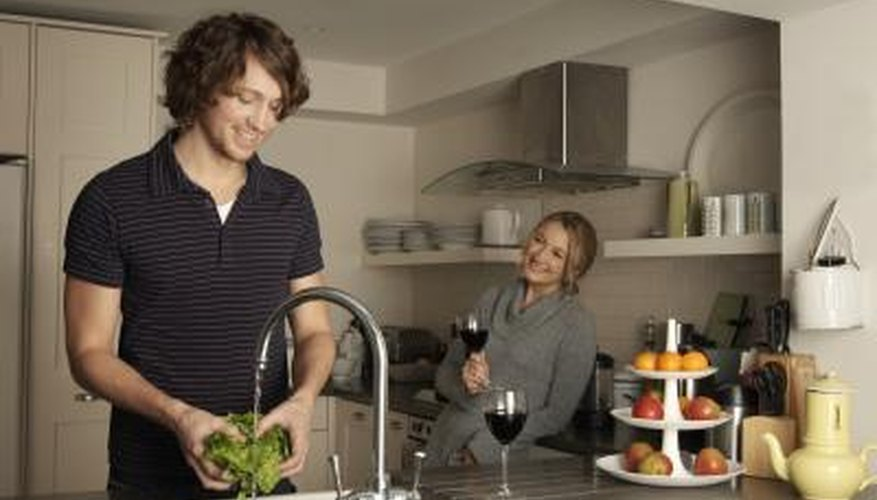If the smell from your kitchen sink gets worse when you run the tap, a leak or blockage may be to blame.
