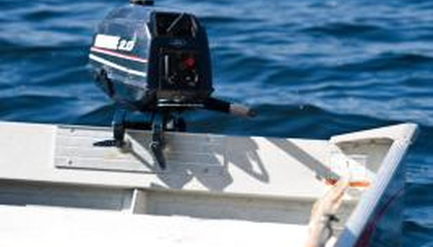 Chainsaw oil can be used as substitues for outboard tilt-and-trim systems.