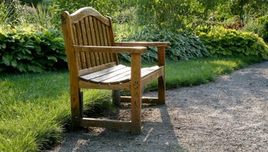 Oak benches can last for decades with the right care.