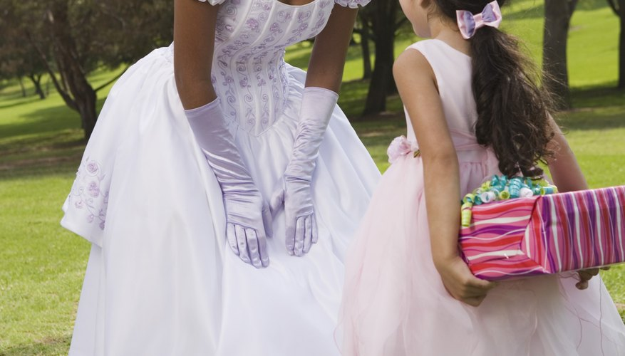 A debutante often dresses like a princess.