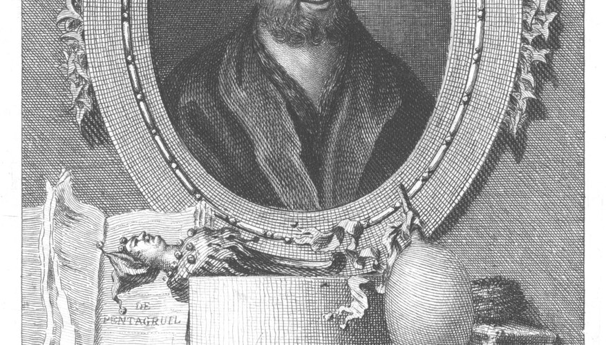 Francois Rabelais bore a major influence on Renaissance literature in Northern Europe.