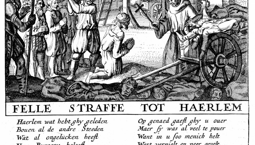 Dutch Protestants were executed by Catholic Spain, fueling the religious tensions that led to the revolt.