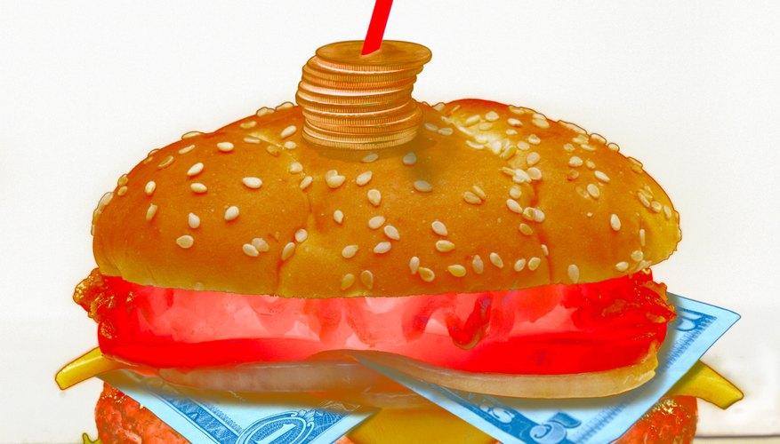 Promociona tu negocio de hamburguesas.