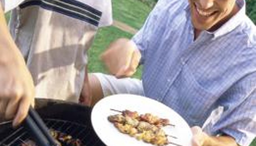 Outdoor grilling can move indoors with a non-stick electric grill.