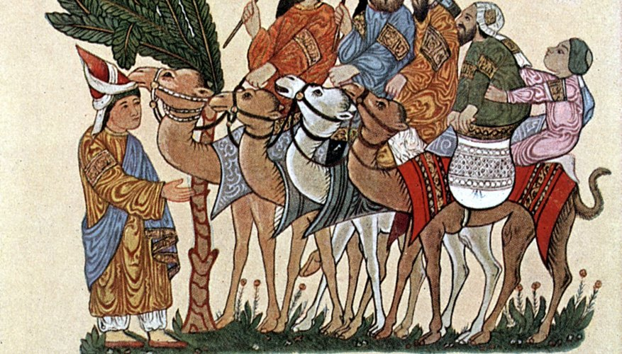 Most trade at this time was conducted using camels.