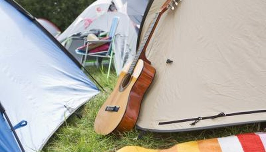 Taking a guitar on a campout? Varnish can protect it from moisture, heat and scratches.