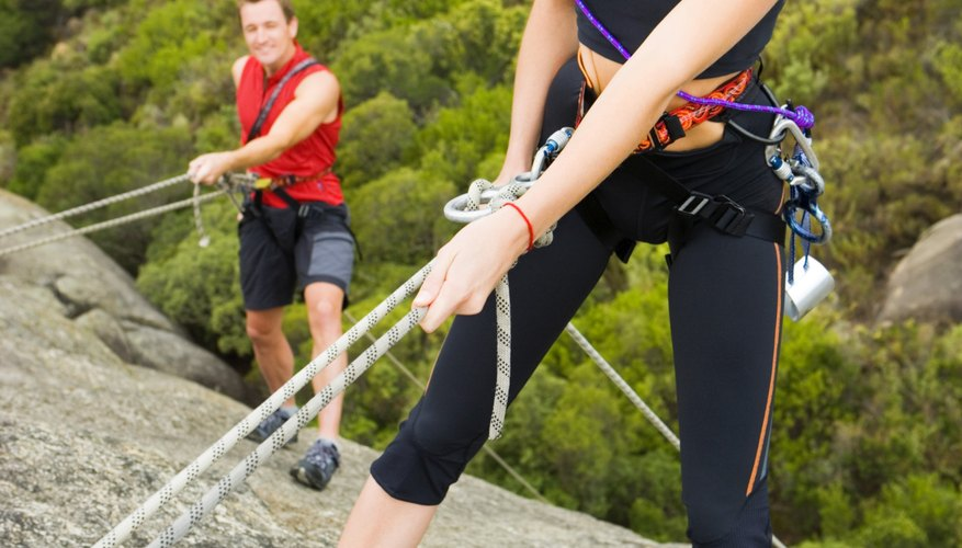 Surprise your adventure lover with a day of rock climbing.
