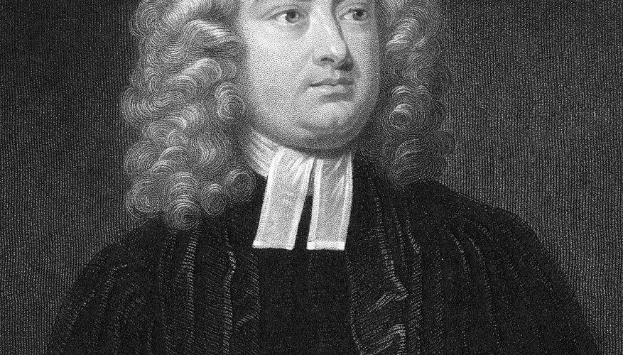 Jonathan Swift, author of
