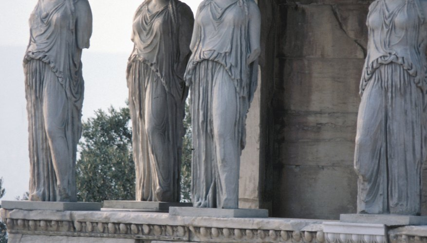Archaeological evidence suggests that Greek clothing was simple and functional.