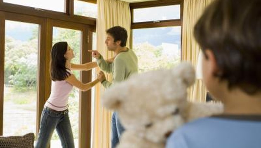 Children learn how to behave by the examples they observe in their home.