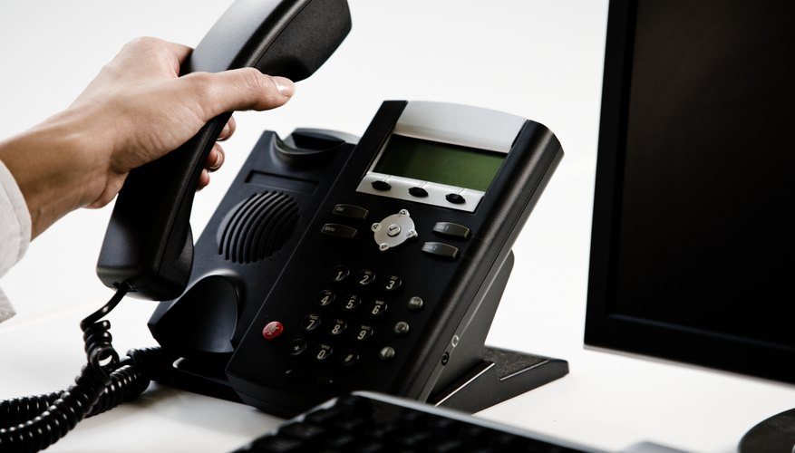 IP phones communicate over a data network rather than analog phone lines.