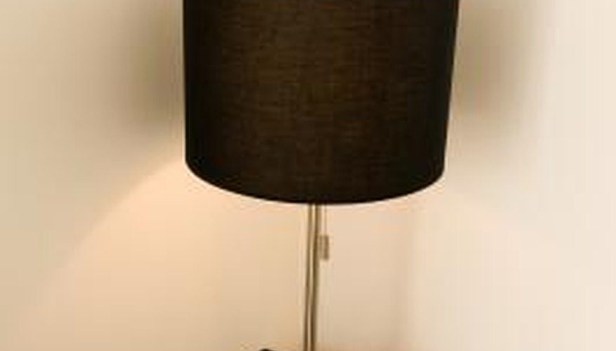 Lamps are relatively easy to make.