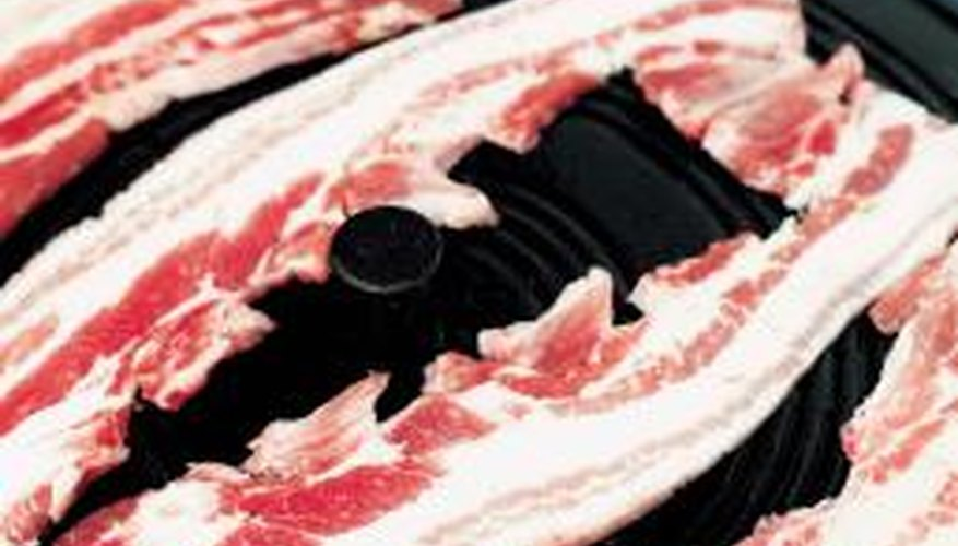 Fresh or usable bacon will not smell odd.