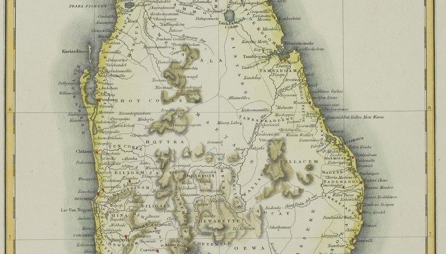Before changing its name in 1972, Sri Lanka was known as Ceylon.
