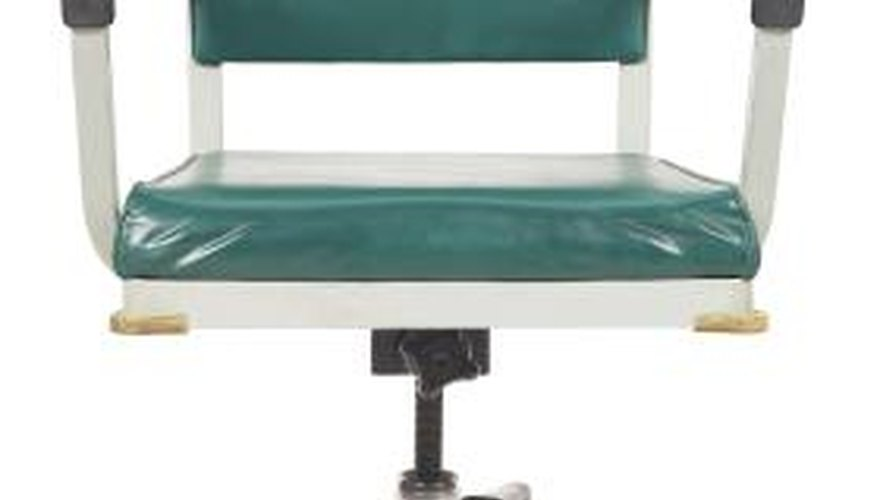 Swivel chairs can be both convenient and a bother.