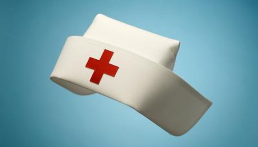 Nurse Ratched wore an old-fashioned paper cap.