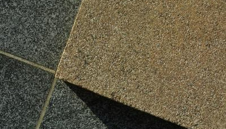 Bring lustre to sandstone surfaces with a grinder.
