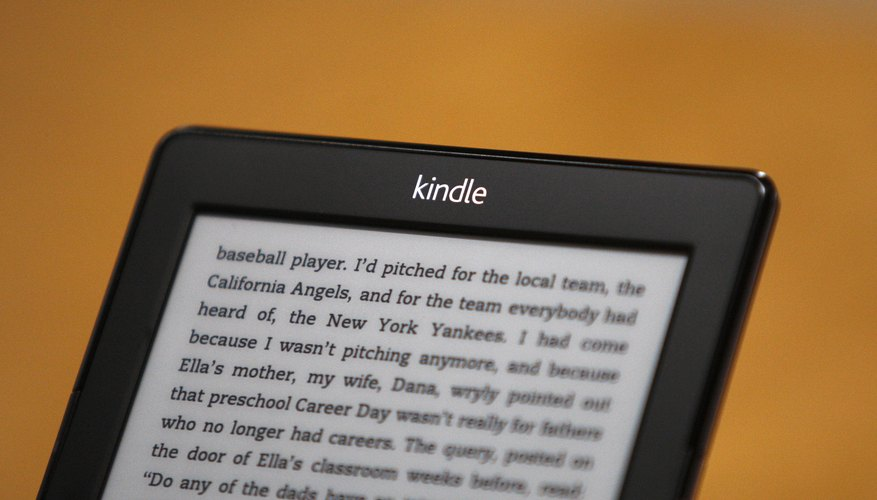 Resetting your Kindle can help resolve common problems.