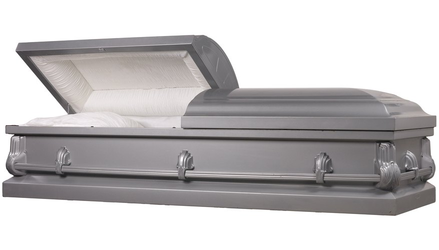 Casket veils can also cover the coffin itself.