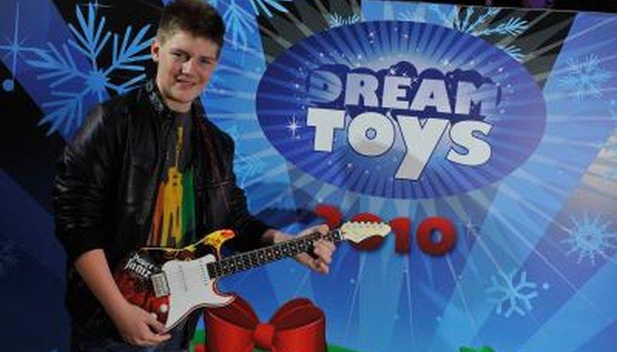 Paper Jamz guitars can make kids feel like rock stars.