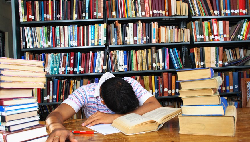 Making a study schedule can help you avoid burnout.