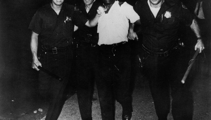 Civil rights arrest victim