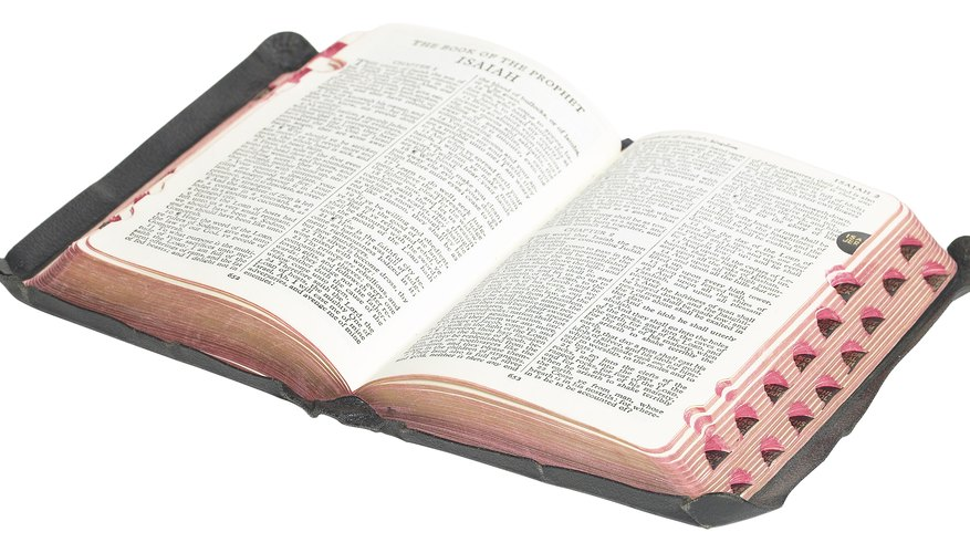 The Bible provides plenty of detail on evangelical attributes.