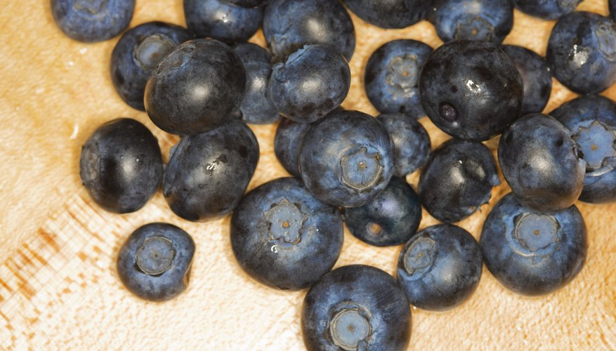 Blueberries: Spot the difference.