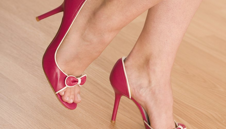 Break your new heels in the right way and they will feel as good as they look.
