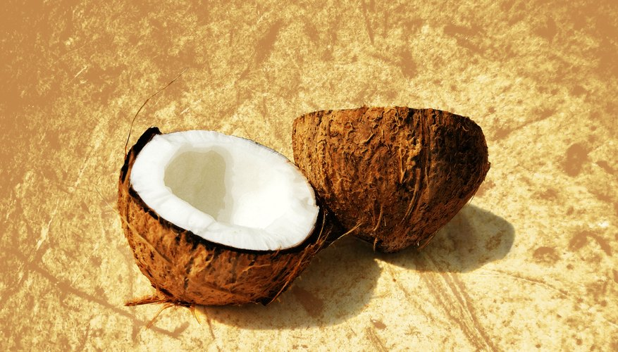 The fatty acids in coconut milk can nourish the hair and skin.