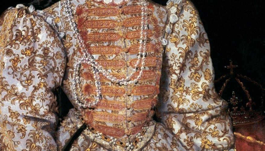Queen Elizabeth I of England.