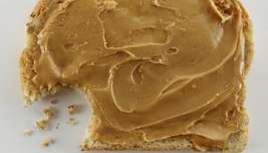 Remove mousetrap glue with peanut butter.