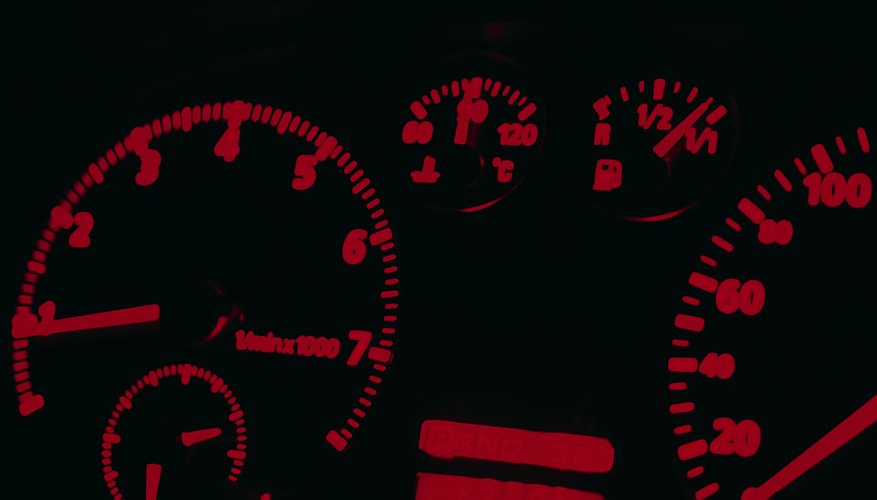 Dashboards display crucial information for safe driving.