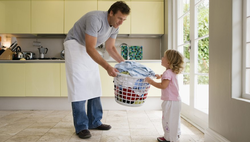 Allow your child to help sort things around the house as well.