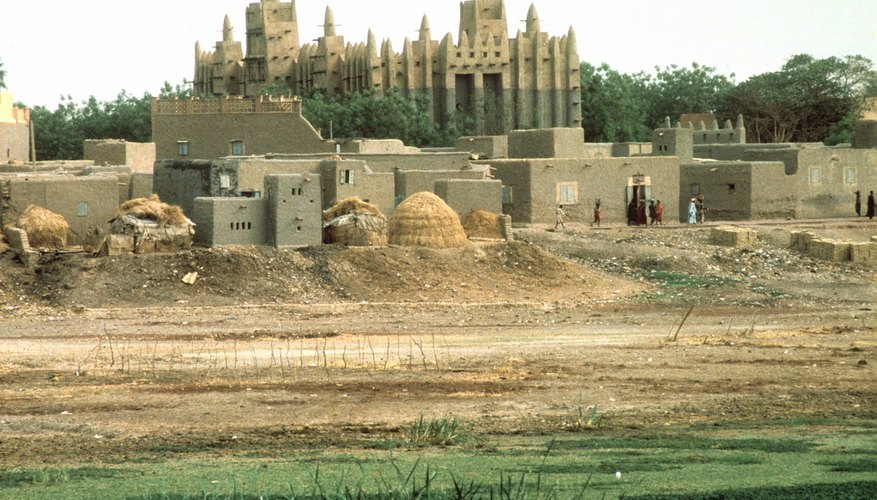Islamic center in Mali, Africa.