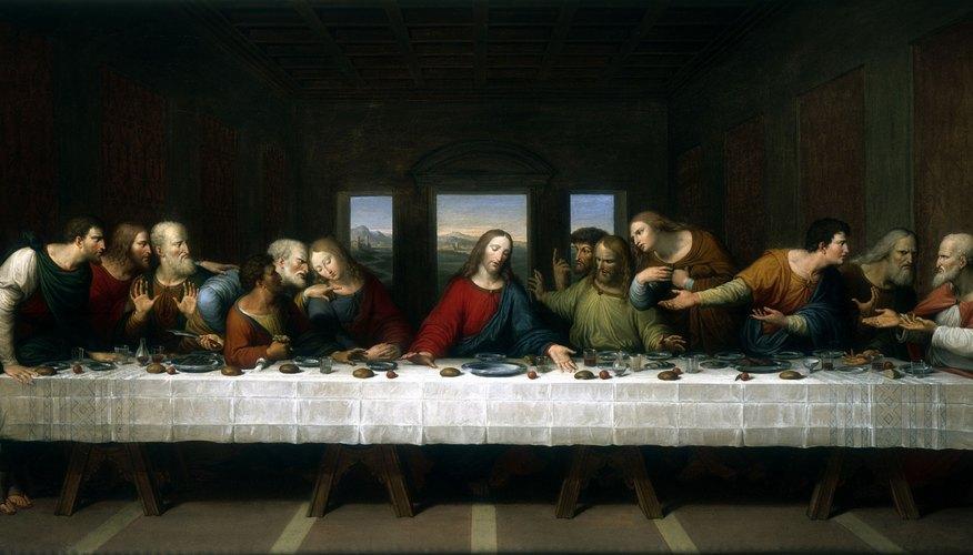 Da Vinci's famous painting
