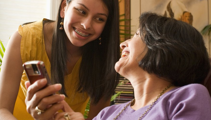 Talk with your parents often to find out what's going on in their lives.