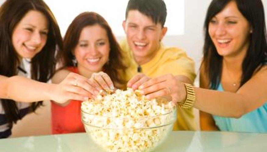 Make air popped popcorn taste better with seasonings.