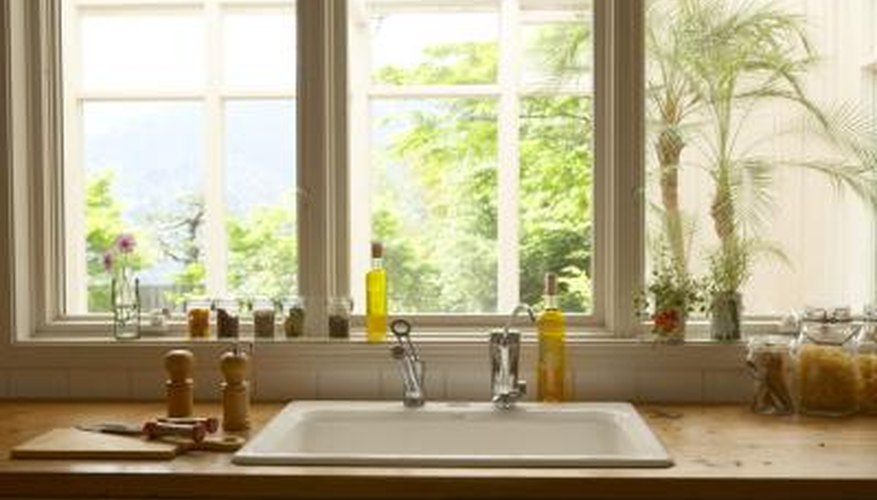 Having extra space for plants gives them more light and your window more decoration.