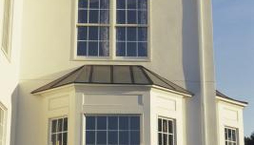 Bow and bay windows point in three directions.