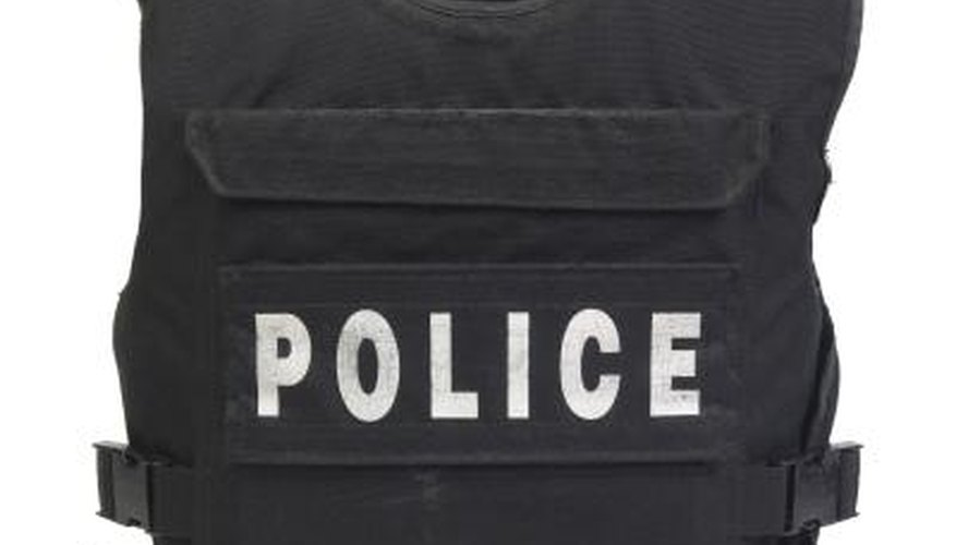 Kevlar vests are used by police forces throughout the world.