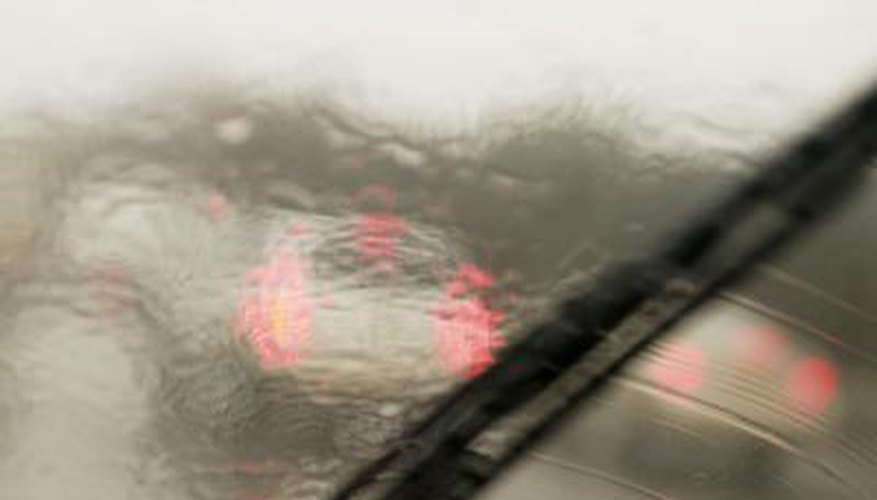 Clean your windshield to prevent accidents from decreased visibility.