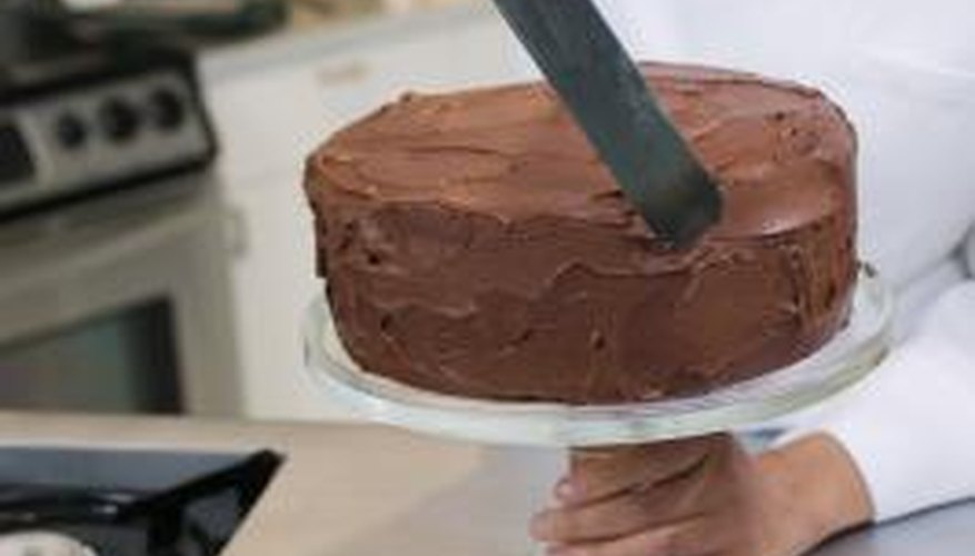 Cooling time is a necessary component of cake baking. Cakes should be fully cooled before the icing is applied and put into a container.